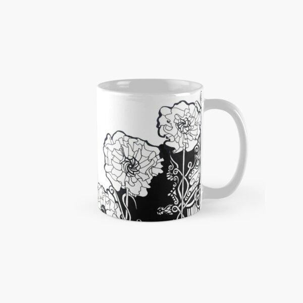 Celtic Poppy Design Classic Mug