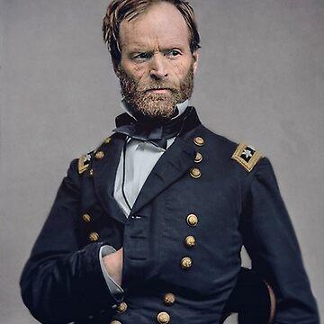 General William T Sherman by historicalstuff
