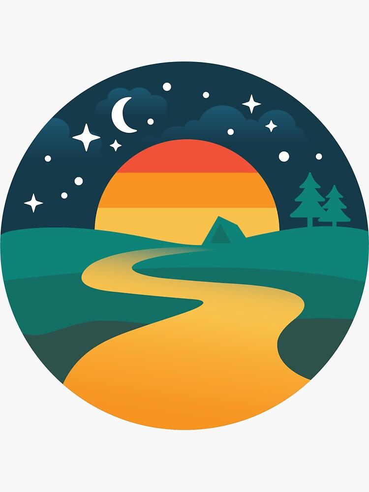 Moonlight Camping by heatheradesign