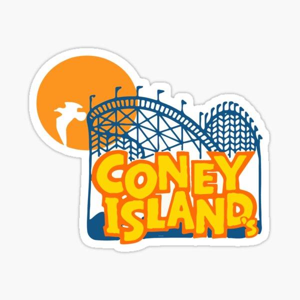 Coney Island - New York. Sticker
