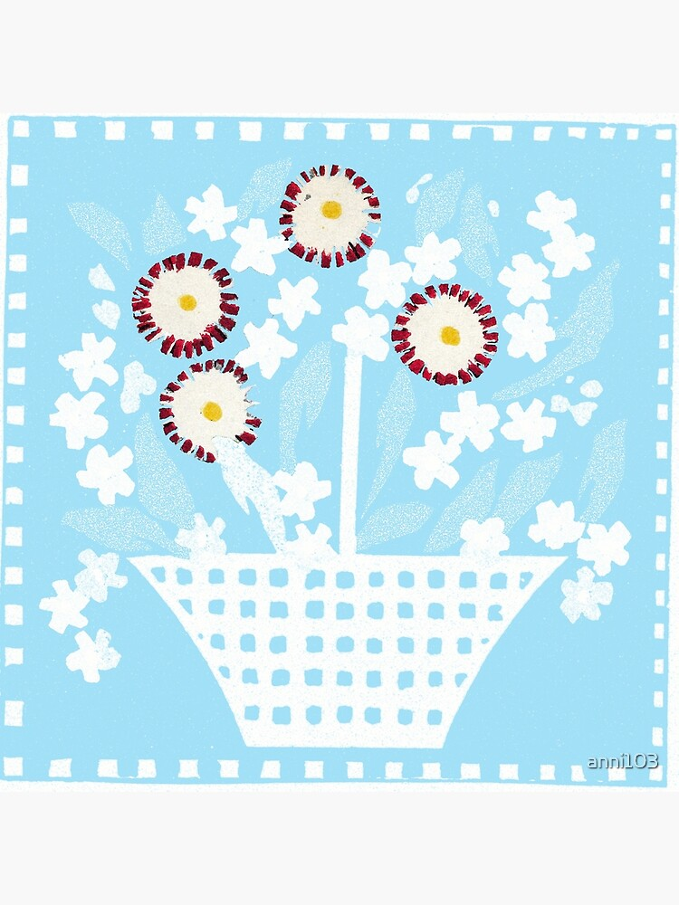 Mixed Flower basket by anni103