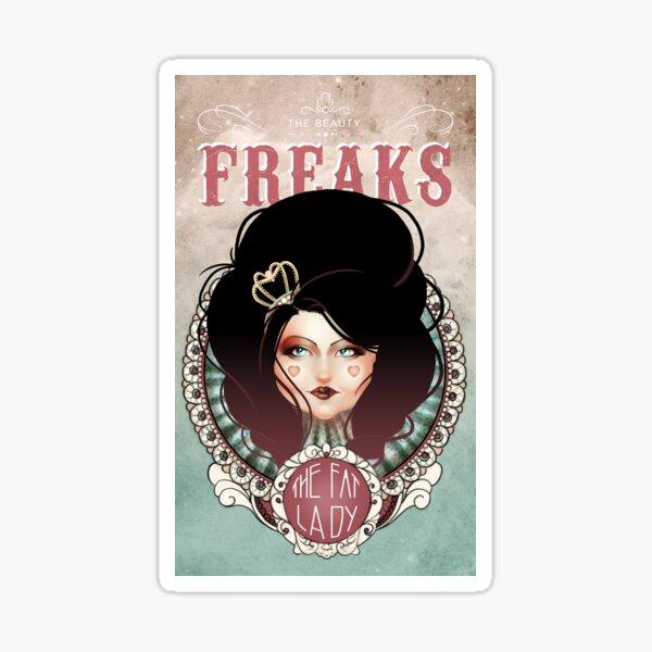 The Beauty Freaks - The Fat Girl  Sticker