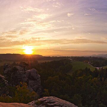 Sunrise by fourretout