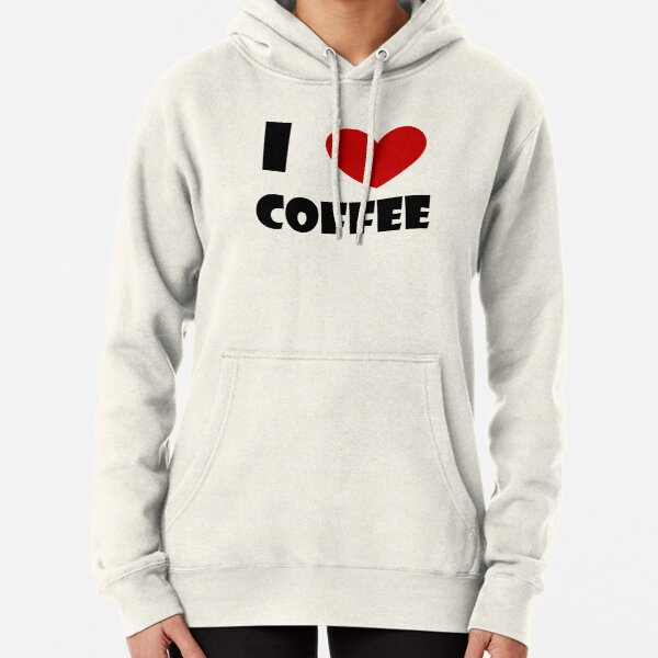 I Heart Coffee! Pullover Hoodie
