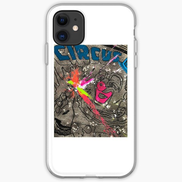 Sledgehammer Explosion iPhone Soft Case