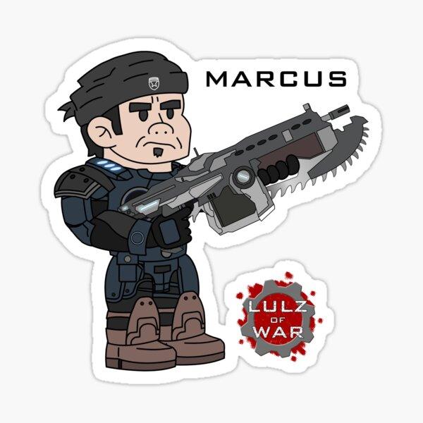 Lulz Of War: Marcus Sticker