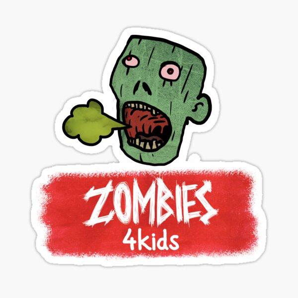 "Zombie Puke from ""Zombies4Kids"" Sticker"