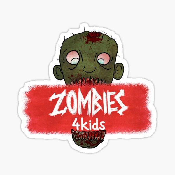 """Zombie Bites from """"Zombies4Kids"""" Sticker"""