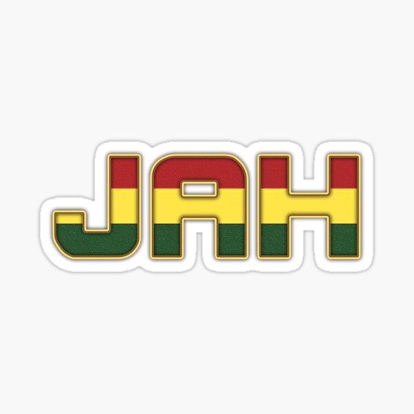 Jah Rasta Reggae Sticker