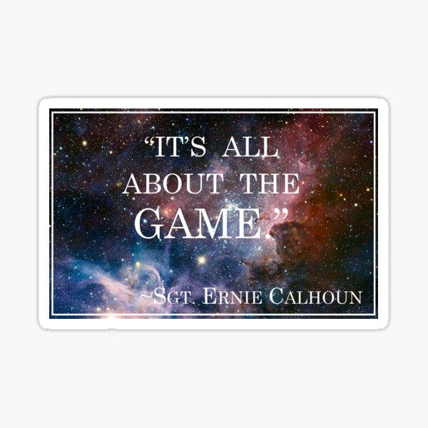 Calhoun's Best Words Sticker