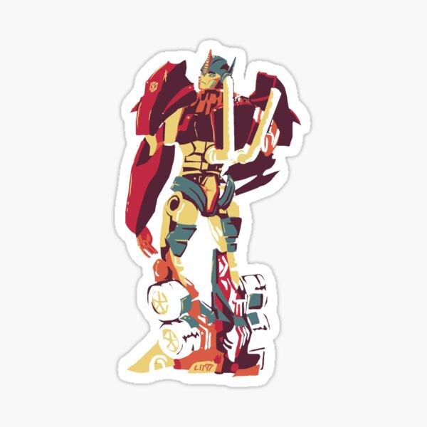 Optimus Glance Sticker