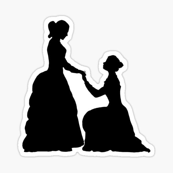 a decent proposal Sticker