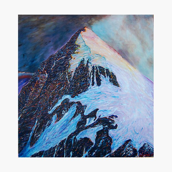 Everest south-east ridge Photographic Print