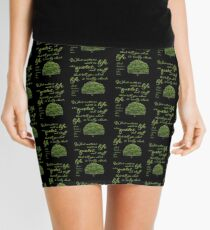 What Matters Most Inspirational Quote Tree Mini Skirt