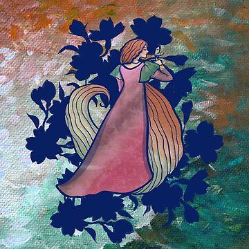 Spring goddess by Boogiemonst