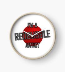 Redbubble Artist Clock
