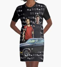 Supernatural 11 Graphic T-Shirt Dress