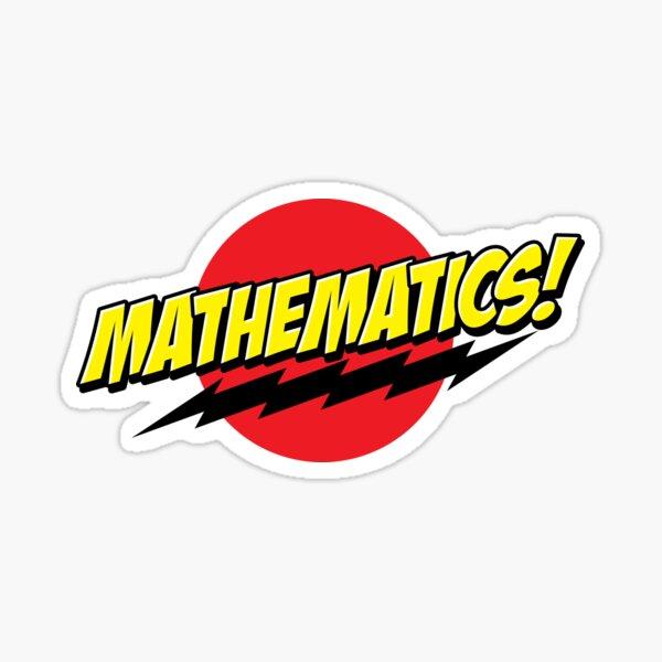 Mathematics! Sticker Sticker