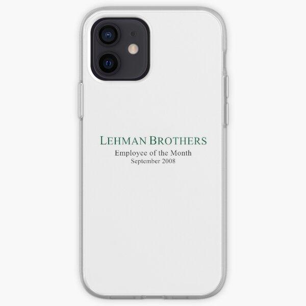 Lehman Brothers politischer Humor iPhone Flexible Hülle