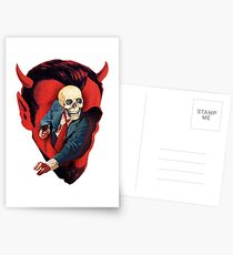 Devilhead Skullman Postcards