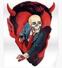 Devilhead Skullman Poster