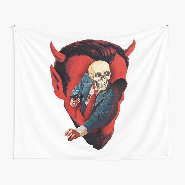 Devilhead Skullman Tapestry