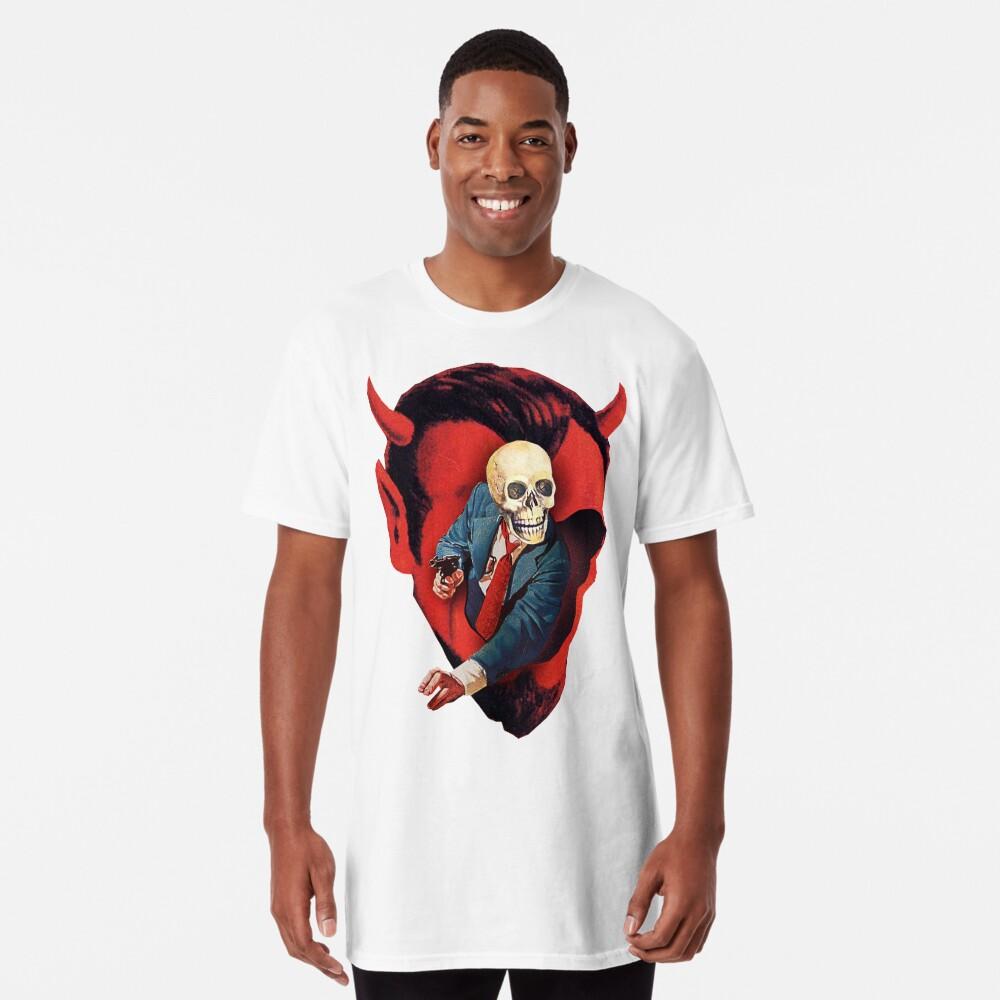 Devilhead Skullman Long T-Shirt