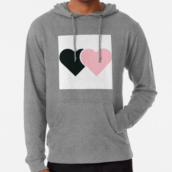 BlackPink-Herzen Leichter Hoodie