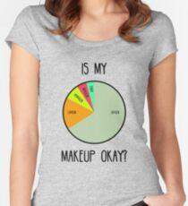 Est-ce que mon maquillage est bon? T-shirt échancré