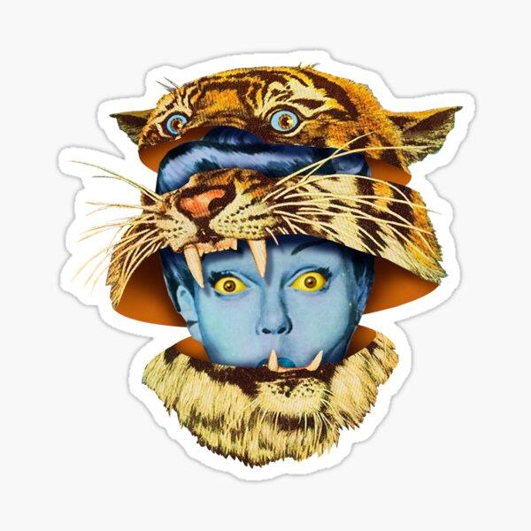 Tiger Lady Sticker