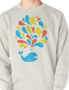 Colorful Happy Cartoon Whale T-Shirt