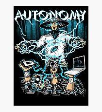 Autonomy Photographic Print