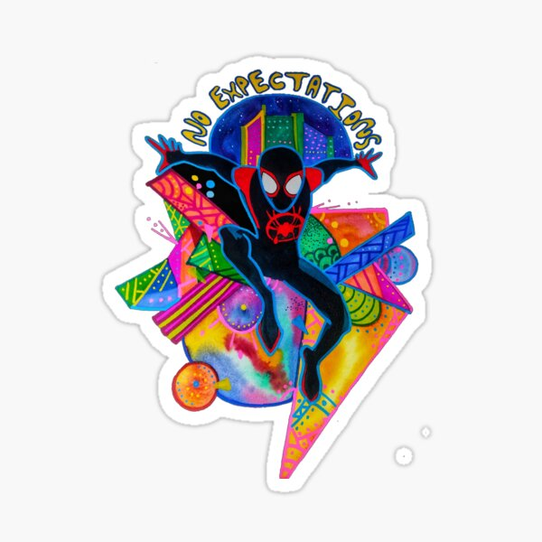 Into the Spiderverse  Sticker