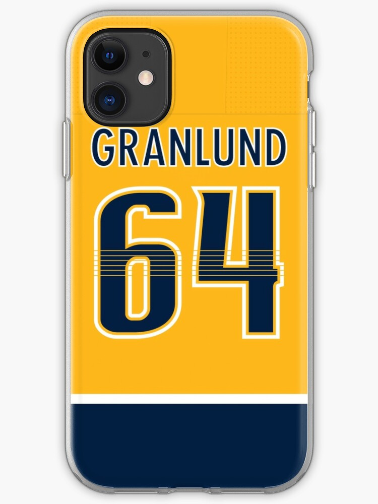 Connor Hellebuyck Jersey iphone 11 case