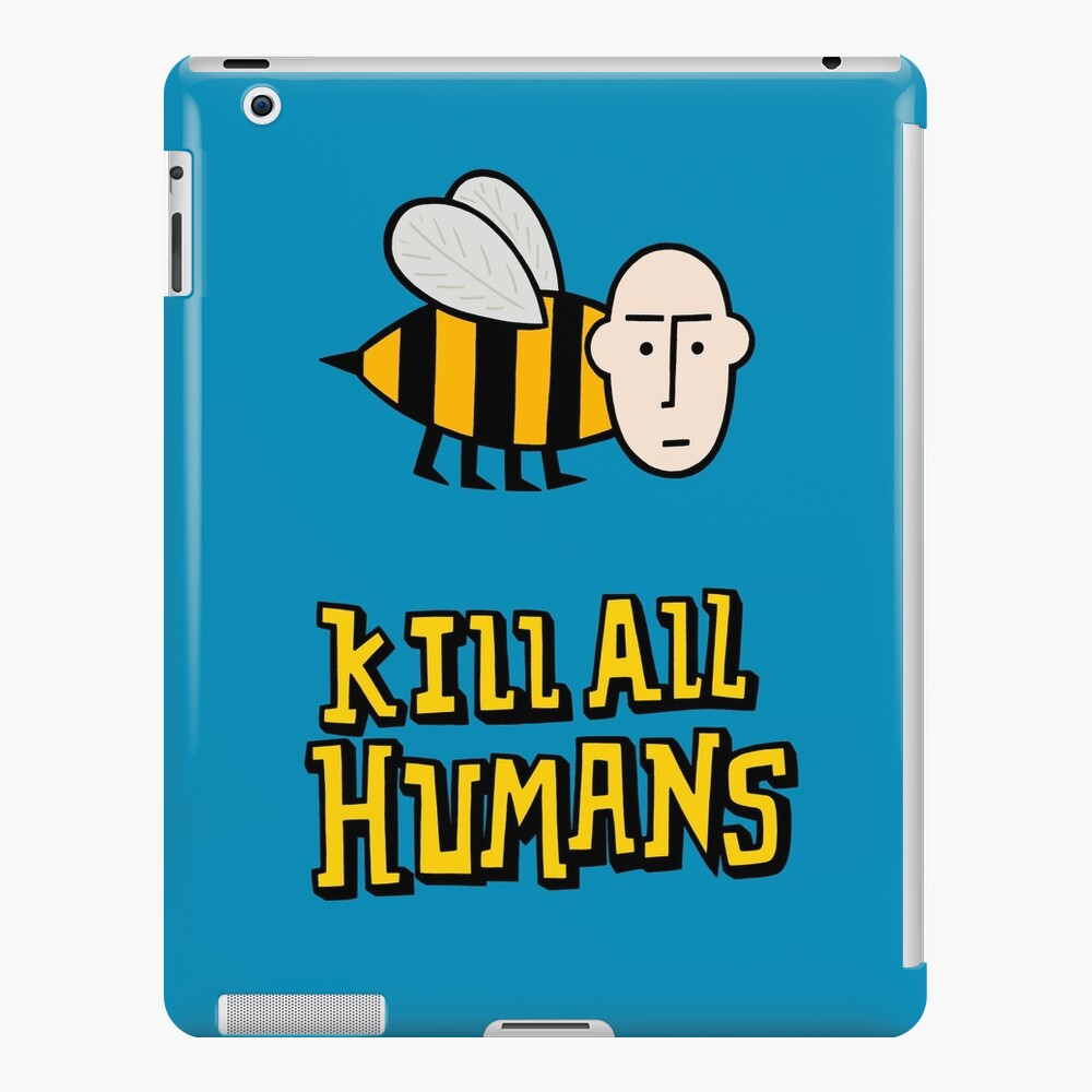 Save the bees. iPad Case & Skin