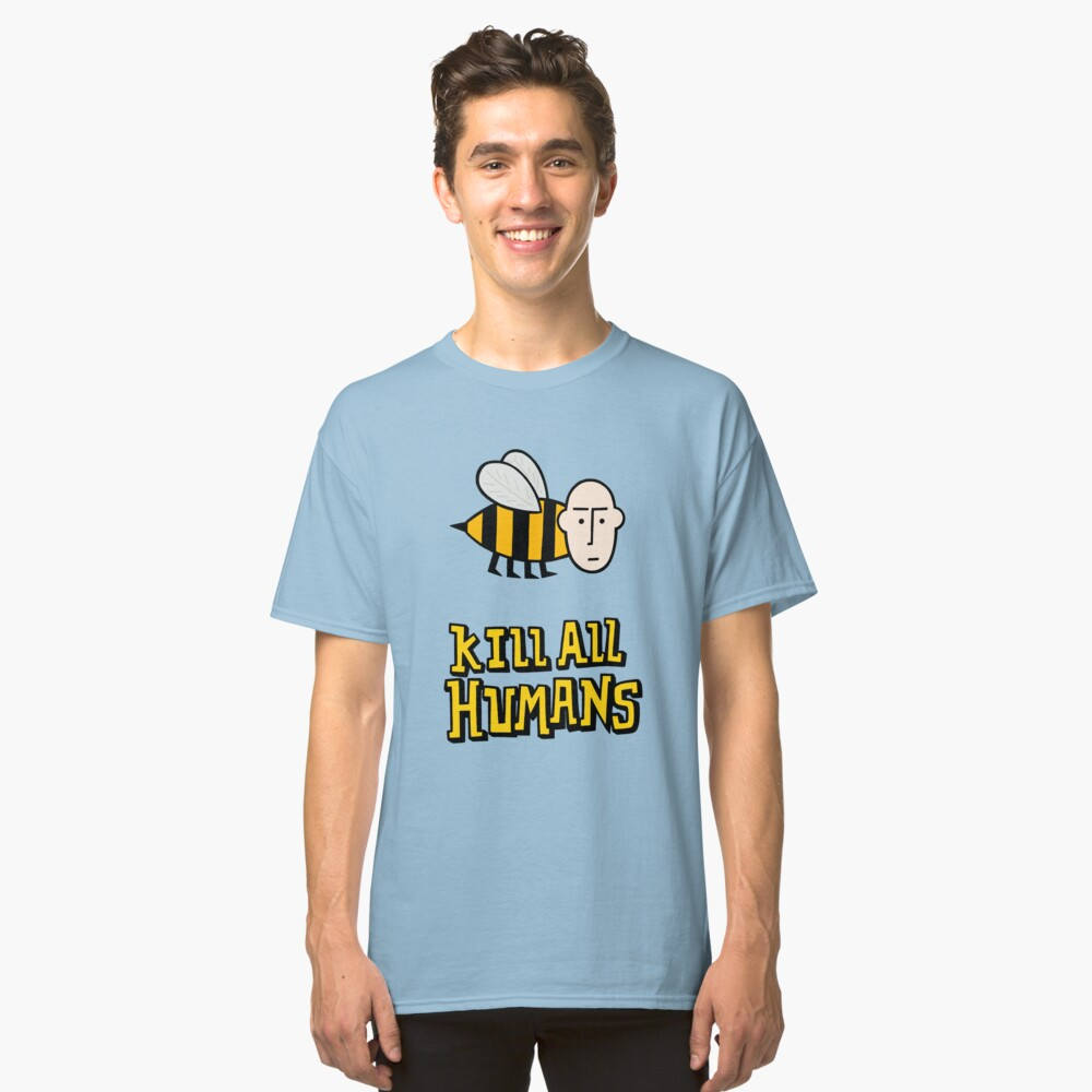 Save the bees. Classic T-Shirt