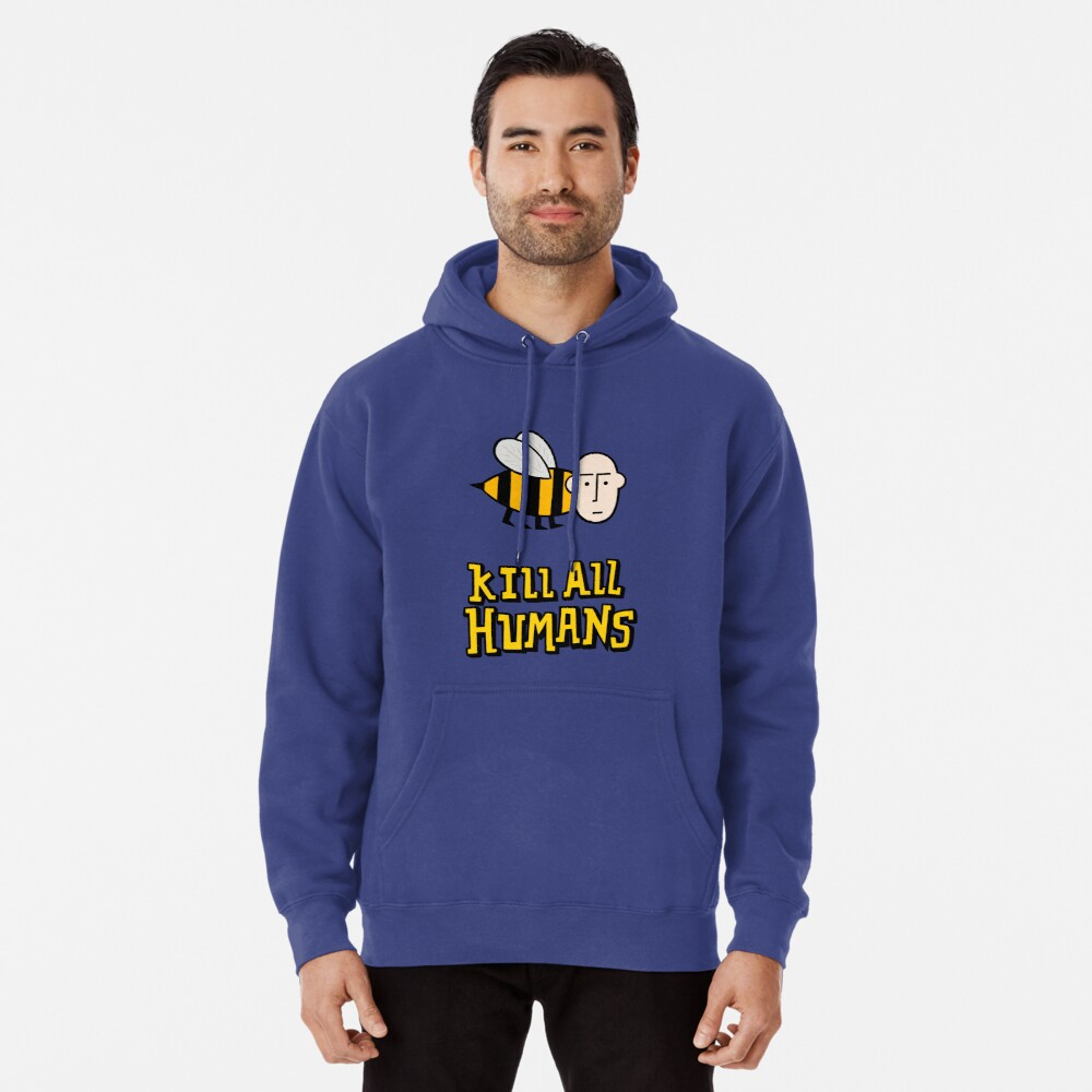 Save the bees. Pullover Hoodie