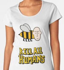 Save the bees. Premium Scoop T-Shirt