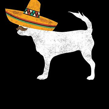 Chihuahua Cinco De Mayo Sombrero - Pet Dog Lover Gifts by EcoKeeps
