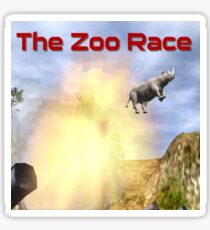 The Zoo Race Cannon Sticker