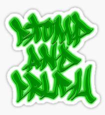 Stomp and Crush - 2015 - Green Sticker