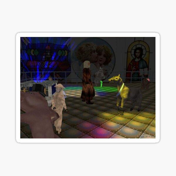 The Zoo Race dance floor Sticker