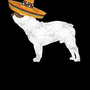 Frenchie Cinco De Mayo Sombrero - Pet Dog Lover Gifts by EcoKeeps