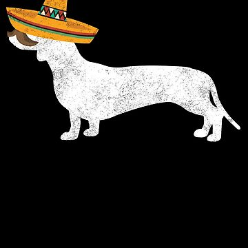 Doxie Cinco De Mayo Sombrero - Pet Dog Lover Gifts by EcoKeeps