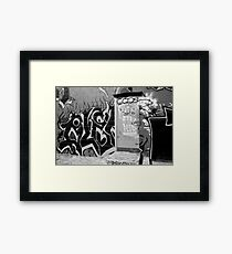 Street Love Framed Print