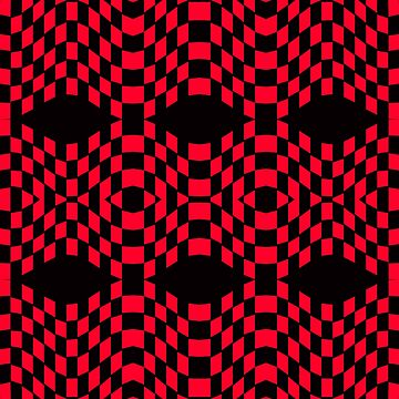CHECKERED MADNESS 2A by IMPACTEES