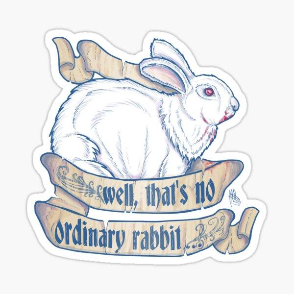 Killer Bunny Sticker