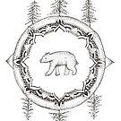 Wild Bear by makaylasophia