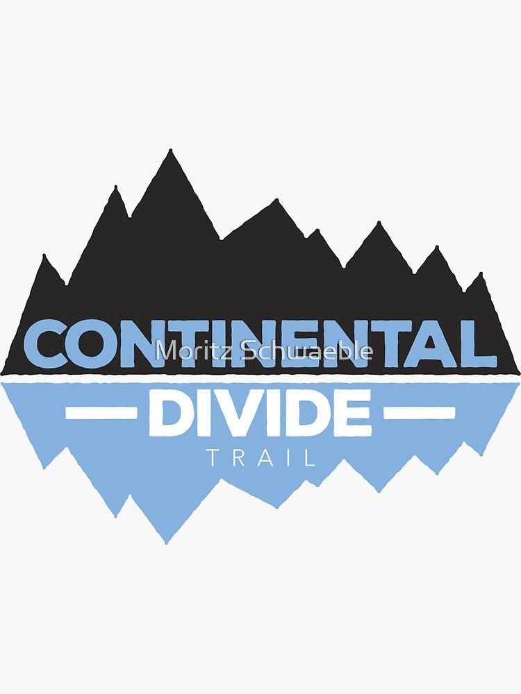 Continental Divide Trail Hiking Shirt - CDT by moritzschwaeble