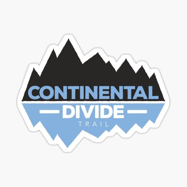 Continental Divide Trail Hiking Shirt - CDT Sticker